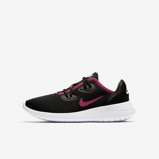 Sapatilhas Casual Nike Hakata Menina Pretas/Branco/Rosa AO1244-002