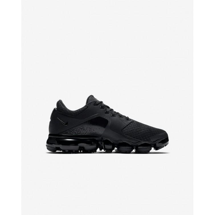 06ce9f02490 ... Nike Air VaporMax Running Shoes Boys Black Dark Grey Total Crimson  917963-002 ...