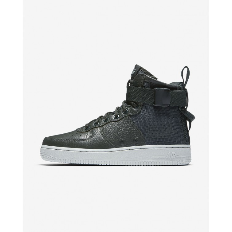 newest d35ca 7cc2b ... amazon zapatillas casual nike sf air force 1 mid mujer verde claro  aa3966 300 2311a 58825 ...