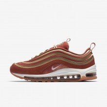 Nike Air Max 97 Ultra 17 LX Lifestyle Shoes Womens Dusty Peach/Bio Beige/Summit White AH6805-200