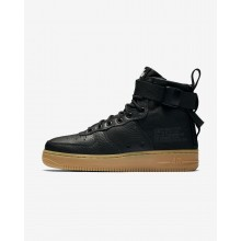 Zapatillas Casual Nike SF Air Force 1 Mid Mujer Negras/Marrones Claro AA3966-002