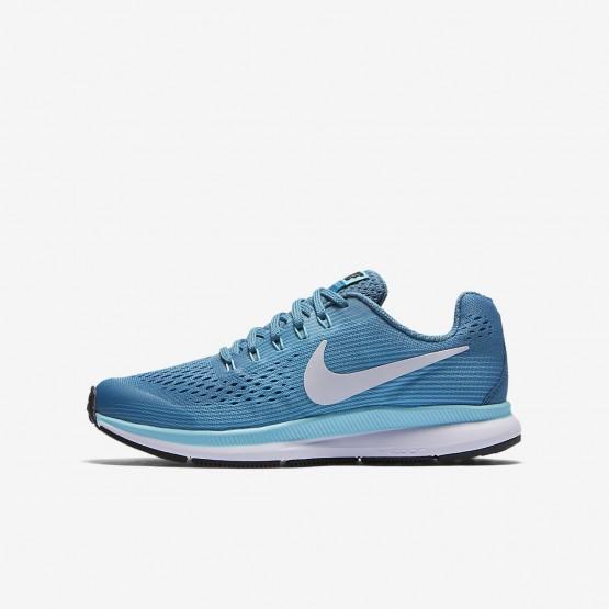 3691b5aee9d76 Nike Zoom Pegasus Running Shoes Girls Noise Aqua Bleached Aqua Green Abyss  White