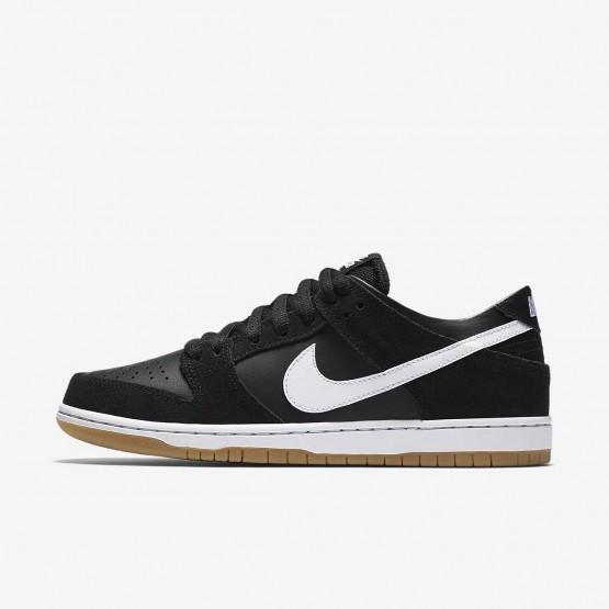 Nike SB Dunk Low Pro Skateboarding Shoes Mens Black/Gum Light Brown/White 854866-019