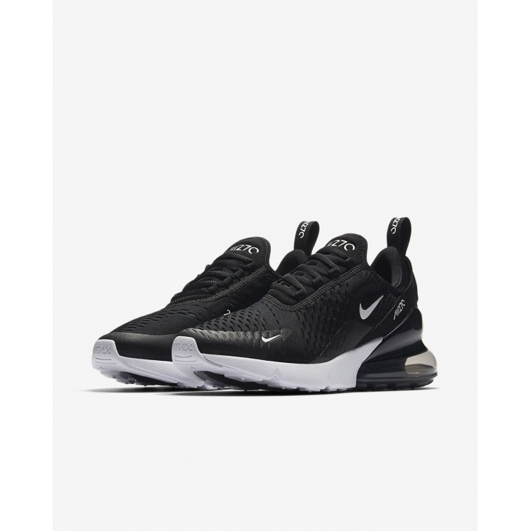 ... Nike Air Max 270 Lifestyle Shoes Womens Black White Anthracite  AH6789-001 bc9ae482fc