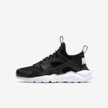 Nike Air Huarache Lifestyle Shoes Boys Black/White 847569-020