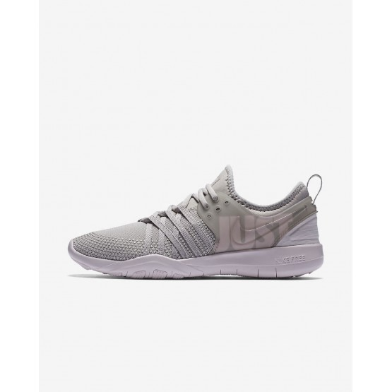 Nike Free Trainer 7 Premium Training Shoes Womens Moon Particle/Barely Rose/Grand Purple 924592-200