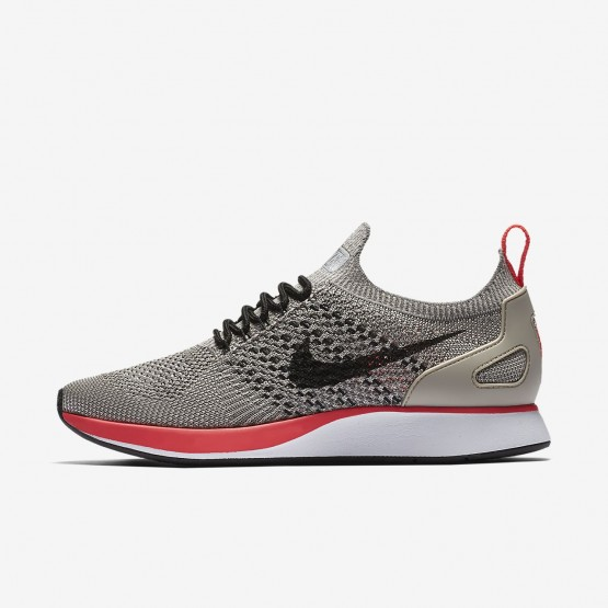 Nike Air Zoom Mariah Flyknit Racer Lifestyle Shoes Womens String/White/Solar Red/Black 917658-200