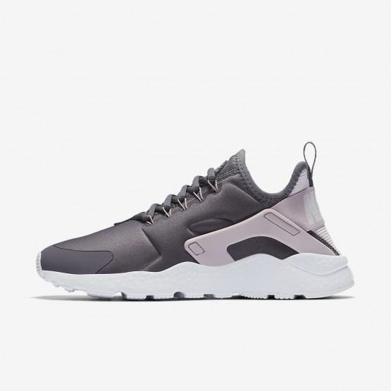 Nike Air Huarache Ultra Lifestyle Shoes Womens Gunsmoke/Particle Rose/White/Vast Grey 819151-016