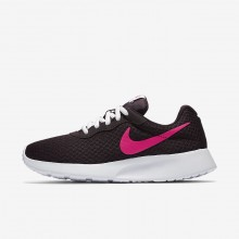 Nike Tanjun Lifestyle Shoes Womens Port Wine/White/Deadly Pink 812655-603