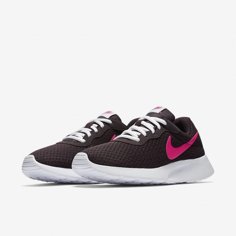 more photos 22e8b 879f0 Nike Tanjun Schoenen Uitverkoop, Nike Casual Schoenen Dames Wit/Roze ...