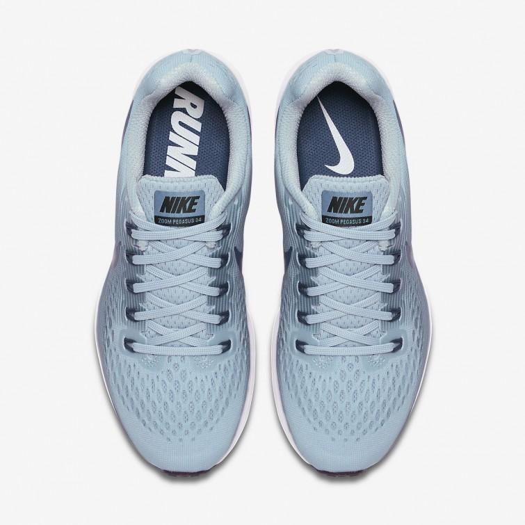 meet bb149 5cebf ... Sapatilhas Running Nike Air Zoom Pegasus 34 Mulher PretasAzuis  880560-408 ...