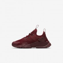 Nike Huarache Run Drift Lifestyle Shoes Boys Team Red/White AA3503-600