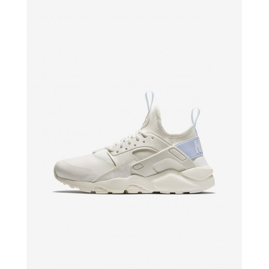 Nike Air Huarache Ultra Lifestyle Shoes Boys Sail/Royal Tint 847568-103
