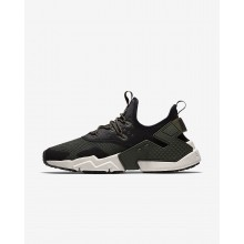 Nike Air Huarache Drift Lifestyle Shoes Mens Sequoia/Black/White/Light Bone AH7334-300