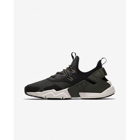 Zapatillas Casual Nike Air Huarache Drift Hombre Negras/Blancas/Claro AH7334-300