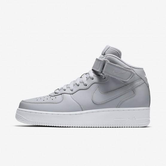 Zapatillas Casual Nike Air Force 1 Mid 07 Hombre Gris/Blancas 315123-046