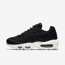 Nike Air Max 95 LX Lifestyle Shoes Womens Black/Dark Grey/Sail AA1103-001