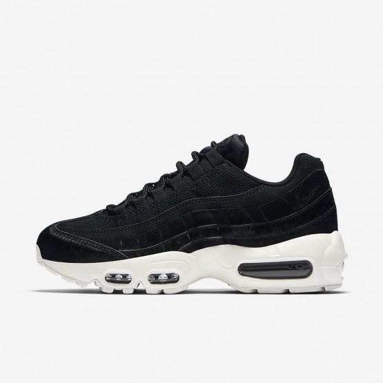 Nike Air Max 95 LX Lifestyle Shoes Womens Black/Dark Grey/Sail AA1103-001