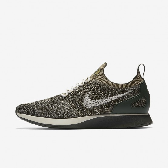 Nike Air Zoom Mariah Flyknit Racer Lifestyle Shoes Mens Sequoia/Light Bone/Neutral Olive 918264-301