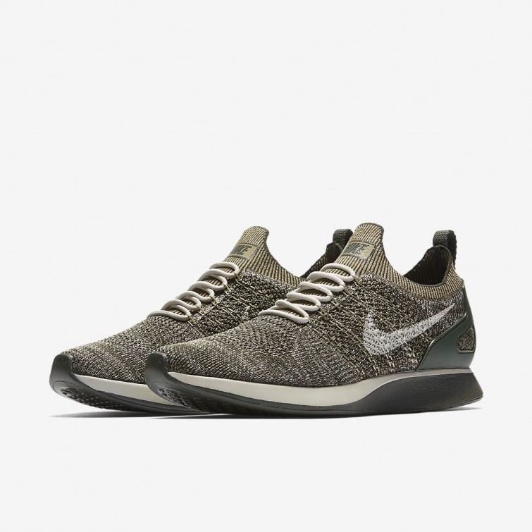 444dbfd782b ... Nike Air Zoom Mariah Flyknit Racer Lifestyle Shoes Mens Sequoia Light  Bone Neutral Olive