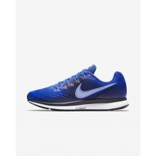 Nike Air Zoom Pegasus 34 Running Shoes Mens Hyper Royal/Obsidian/Royal Tint/Royal Pulse 880555-409