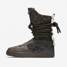 Nike SF Air Force 1 Hi Lifestyle Shoes Mens Ridgerock/Sequoia/Black AA1128-203