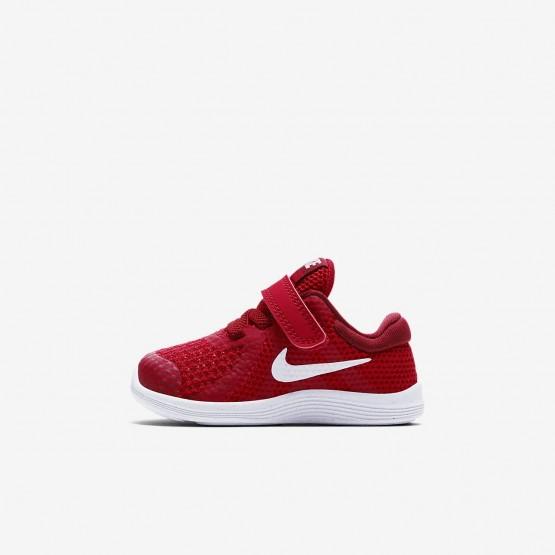 Nike Revolution 4 Running Shoes Girls Gym Red/Team Red/Black/White 943304-601