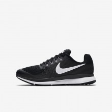 Nike Zoom Pegasus 34 Running Shoes Boys Black/Dark Grey/Anthracite/White 881953-002