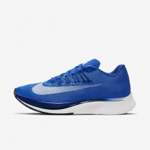 Nike Zoom Fly Running Shoes Womens Hyper Royal/Deep Royal Blue/Black/White 897821-411