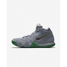 Nike Kyrie 4 The Moment Basketbalschoenen Heren Zilver/Metal Goud 943806-001