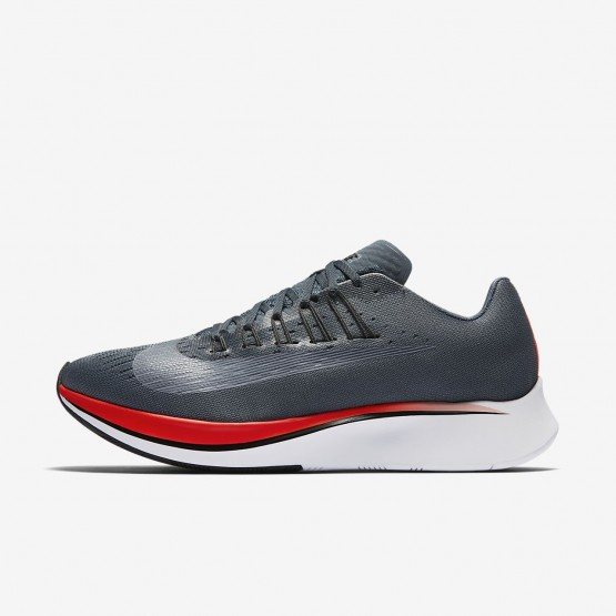 Nike Zoom Fly Running Shoes Mens Blue Fox/Bright Crimson/University Red/Black 880848-400