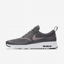 Nike Air Max Thea Lifestyle Shoes Womens Gunsmoke/Black/Particle Rose 599409-029