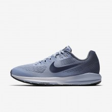 Nike Air Zoom Structure 21 Running Shoes Womens Armory Blue/Cirrus Blue/Cerulean/Armory Navy 904701-400