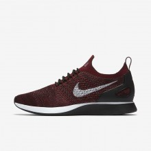 Nike Air Zoom Mariah Flyknit Racer Lifestyle Shoes Mens Deep Burgundy/Team Red/Vintage Wine/Pure Platinum 918264-600