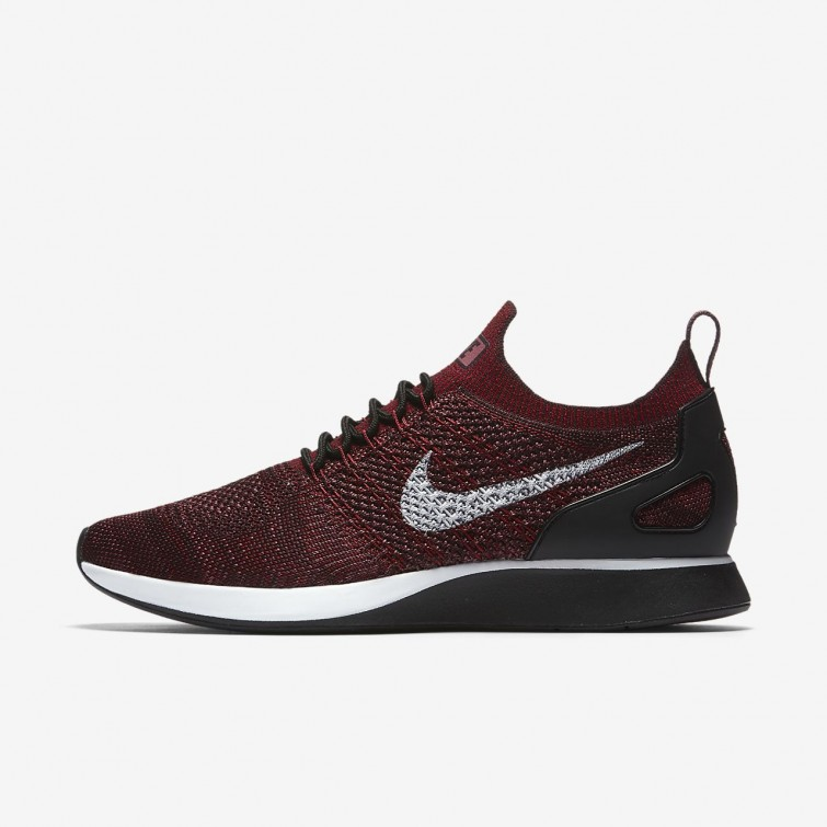separation shoes 28fa9 b713d Nike Air Zoom Mariah Flyknit Racer Lifestyle Shoes Mens Deep Burgundy Team  Red Vintage