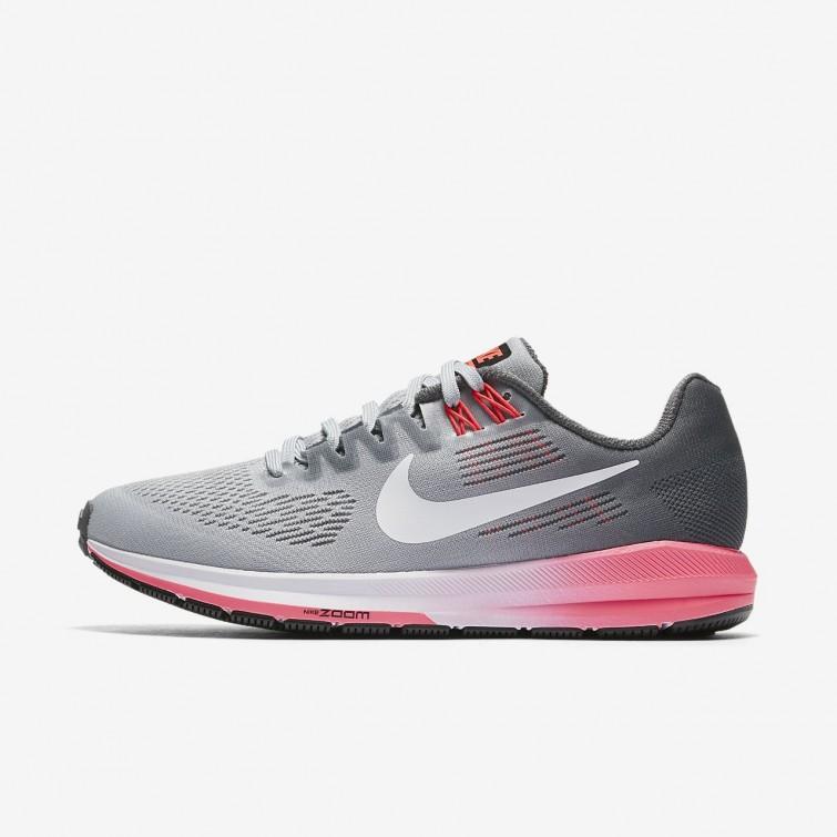 wholesale dealer 86db0 0e004 Nike Air Zoom Structure 21 Hardloopschoenen Dames DonkerGrijs/Grijs/Wit  904701-002