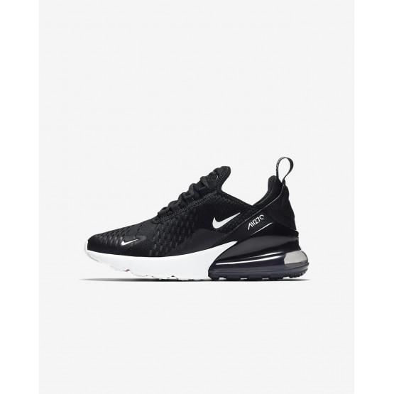 Nike Air Max 270 Casual Schoenen Jongens Zwart/Wit 943345-001