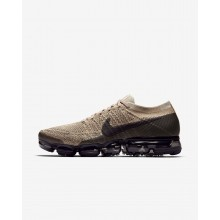 Nike Air VaporMax Running Shoes Mens Khaki/Anthracite/Pale Grey/Black 849558-201