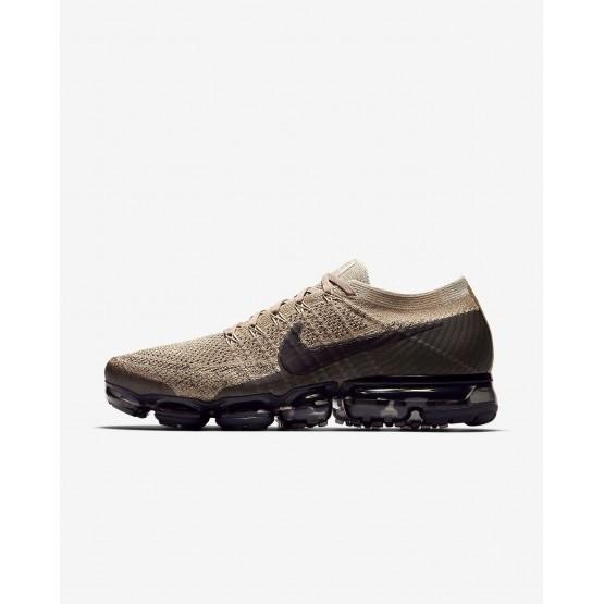 Zapatillas Running Nike Air VaporMax Flyknit Hombre Kaki/Gris/Negras 849558-201