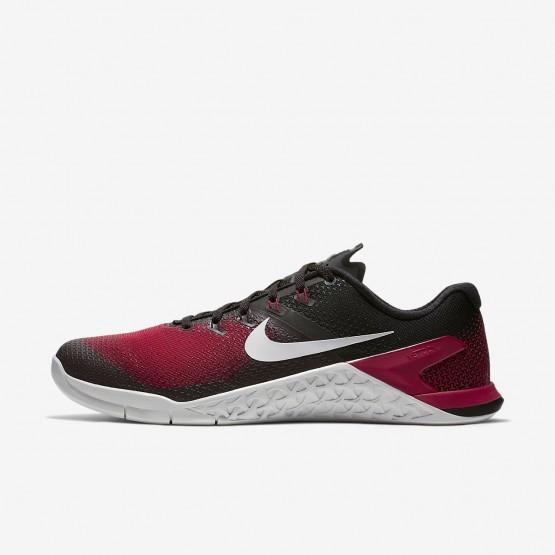 Nike Metcon 4 Fitness Schoenen Heren Zwart/Rood/Grijs AH7453-002