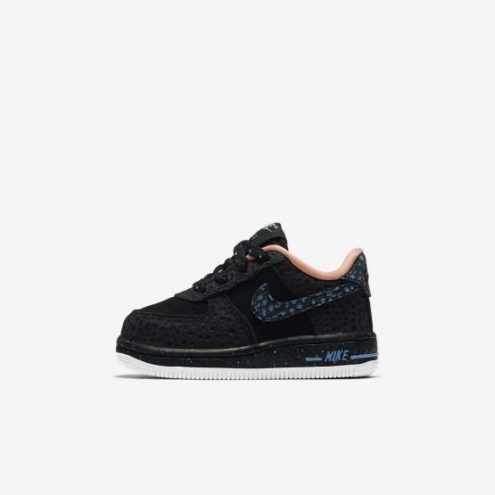 Nike Air Force 1 Pinnacle QS Lifestyle Shoes Boys Black/Crimson Pulse/Summit White/Lagoon Pulse AJ4676-002