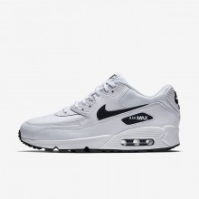 Nike Air Max 90 Lifestyle Shoes Womens White/Black 325213-131