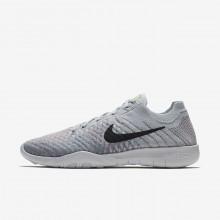 Sapatilhas De Treino Nike Free TR Flyknit 2 Mulher Platina/Azuis 904658-009