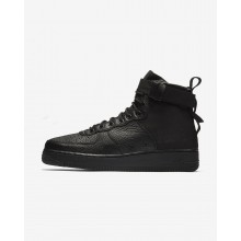 Nike SF Air Force 1 Mid Lifestyle Shoes Mens Black 917753-005