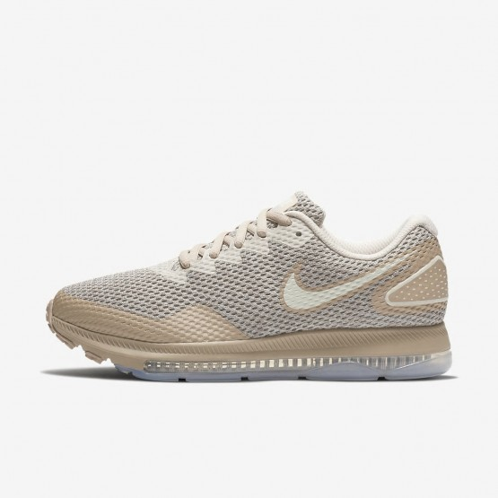 Nike Zoom All Out Low 2 Running Shoes Womens Moon Particle/Sand/Sail AJ0036-201