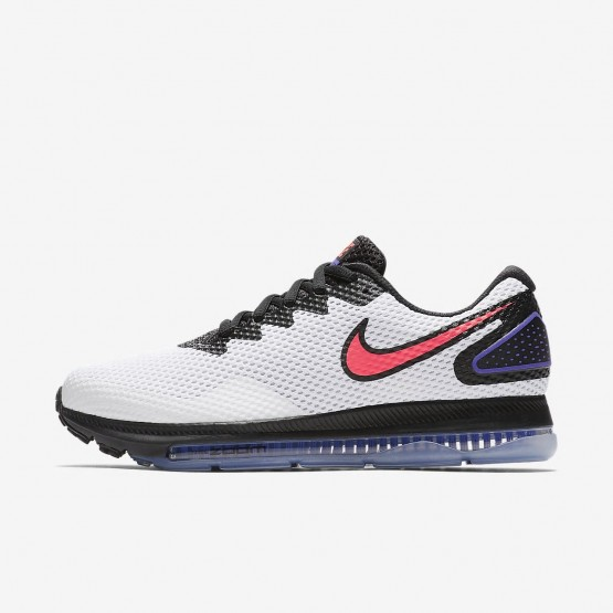 502bdf51946 Chaussure Running Nike Zoom All Out Low 2 Femme Blanche Noir Rouge AJ0036-